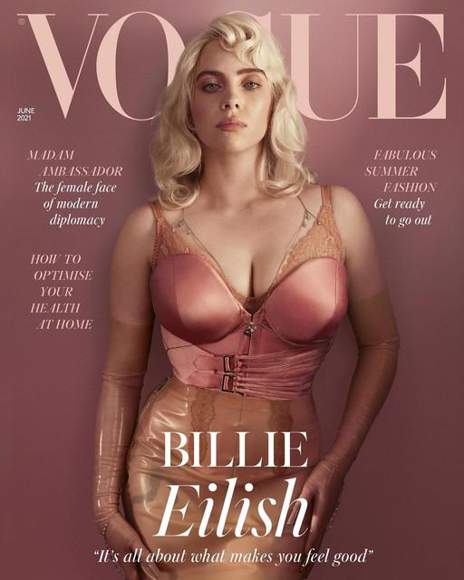 Billie Eilish untuk majalah Vogue Inggris