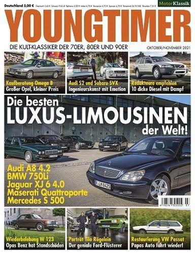 Cover: Motor Klassik Youngtimer Magazin Oktober-November No 07 2021