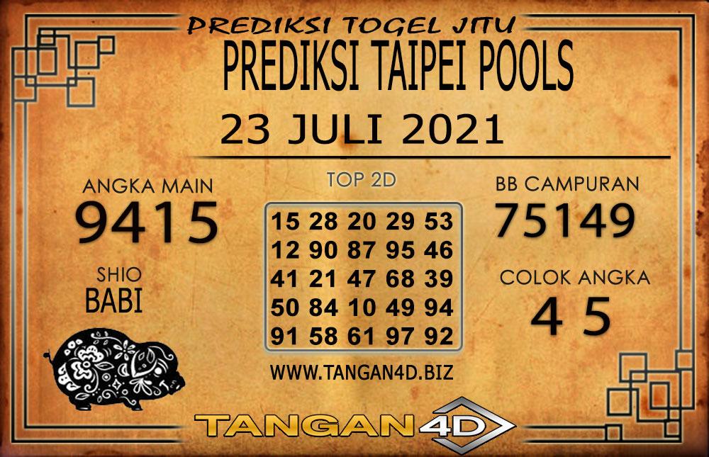 PREDIKSI TOGEL TAIPEI TANGAN4D 23 JULI 2021