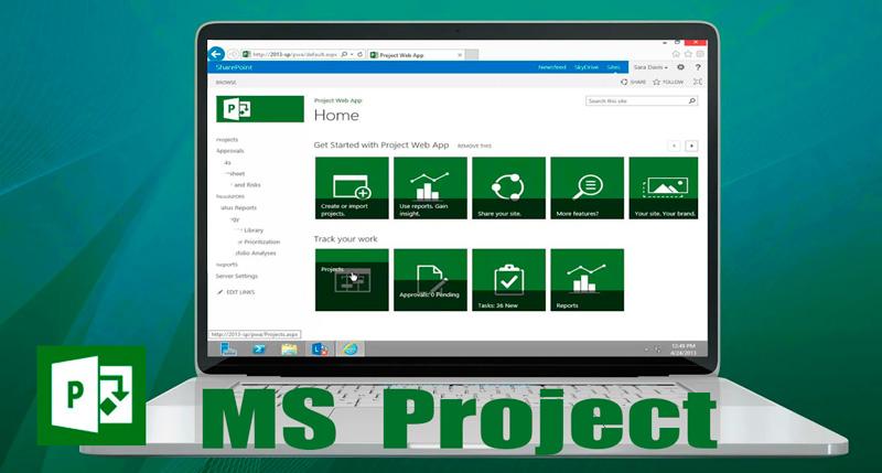 обучение MS Project