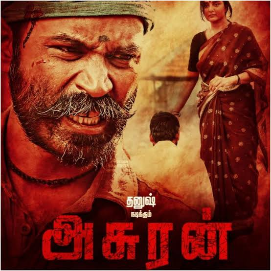 Asuran (2019) UNCUT Dual Audio Hindi 720p HDRip x264 AAC 900MB ESub