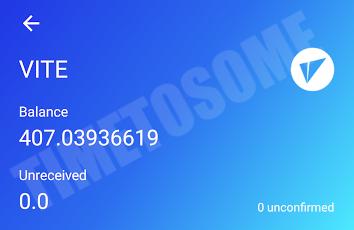OPORTUNIDADE [Provado] Vite Wallet - Nova carteira com tokens Gratis - Android/iOS - (Actualizado em Maio de 2019) Vitexx