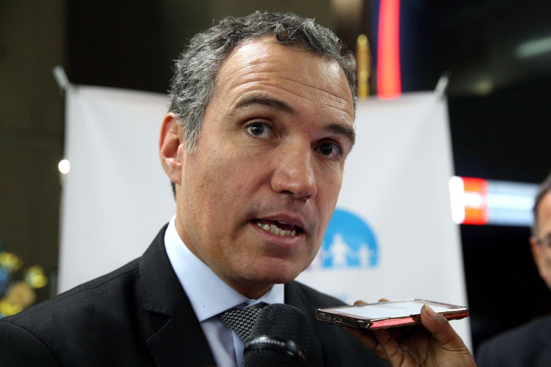"""Salvador Del Solar: """"Hay que respaldar el acuerdo con Odebrecht"""""""