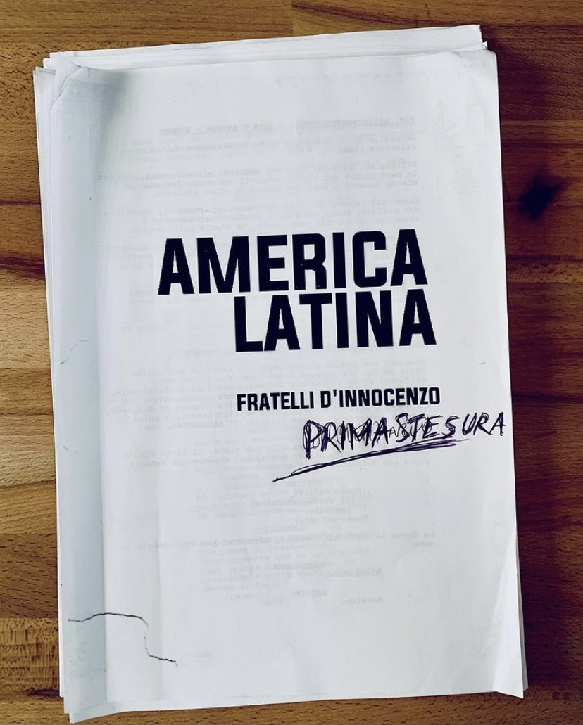 America Latina, il nuovo film dei fratelli D'Innocenzo