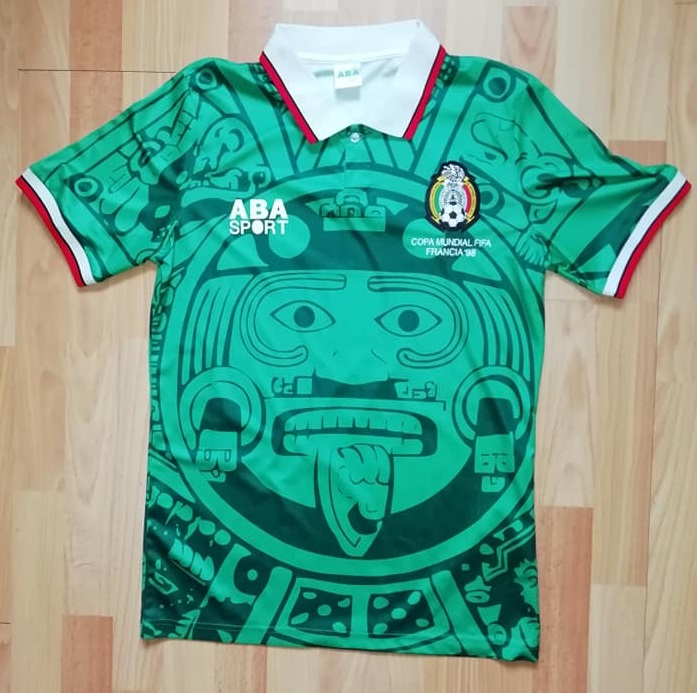 The shirt had been debuted in it s original guise in 1997 during World Cup  qualifying c2d44b09e