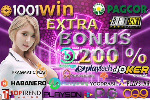 Agen Slot Online Terbaru Indonesia 1001WIN