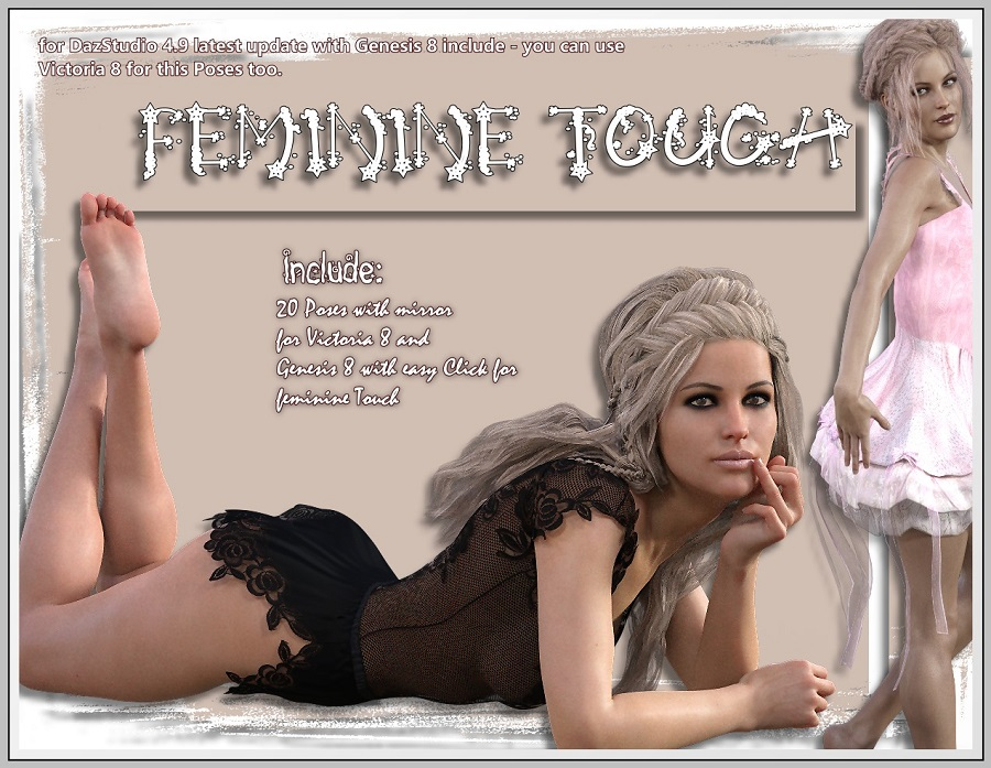 Feminine Touch - V8/G8 Poses