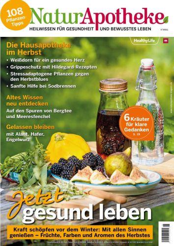 Cover: NaturApotheke Das Magazin für Gesundheit No 05 2021