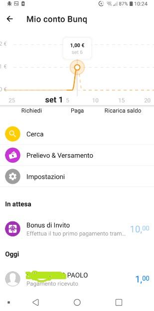 Bunq! 3 Bellissime carte +Bonifici Istantanei e 25 IBAN usa e getta INCLUSI + PROMO 10,00 € DI APERTURA 2019-Set06-bonificoistantaneo4