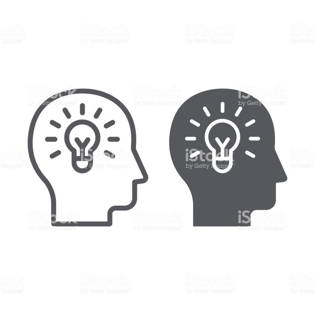 Human-idea-line-and-glyph-icon-creativity-and-solution-light-bulb-in-head-sign-vector-graphics-a-lin