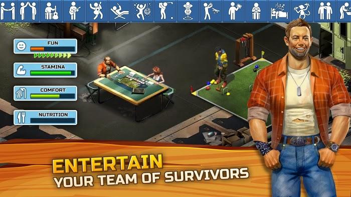 Survivors: The Quest (MOD, Unlimited Diamond)