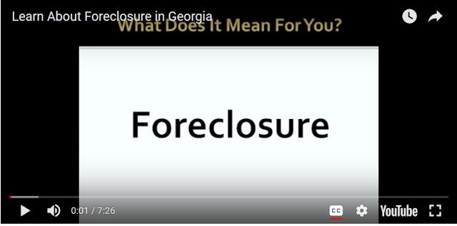 foreclosure screenshot