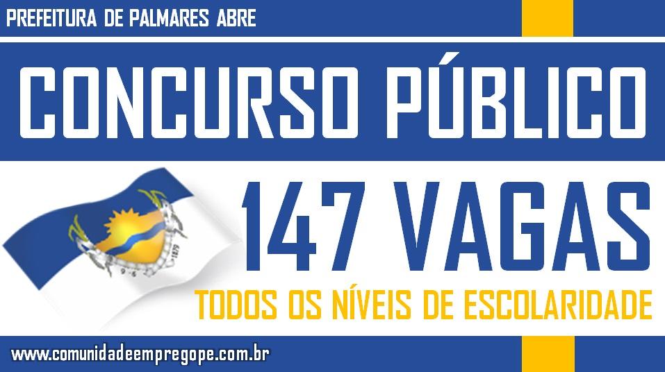 PREFEITURA ABRE CONCURSO COM 147 VAGAS DE NÍVEIS FUNDAMENTAL, MÉDIO E SUPERIOR