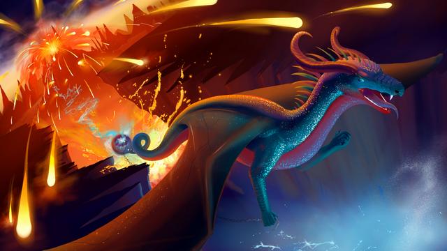 Sapphire dragon resize