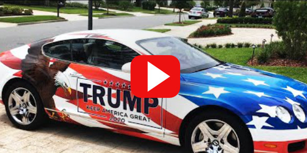 Florida Man Makes 'Trump Bentley' In Response To HOA Rules…