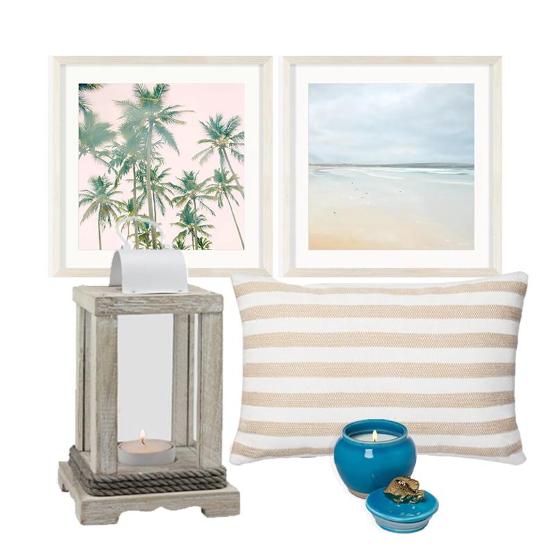 Make Life a Beach Concept Board
