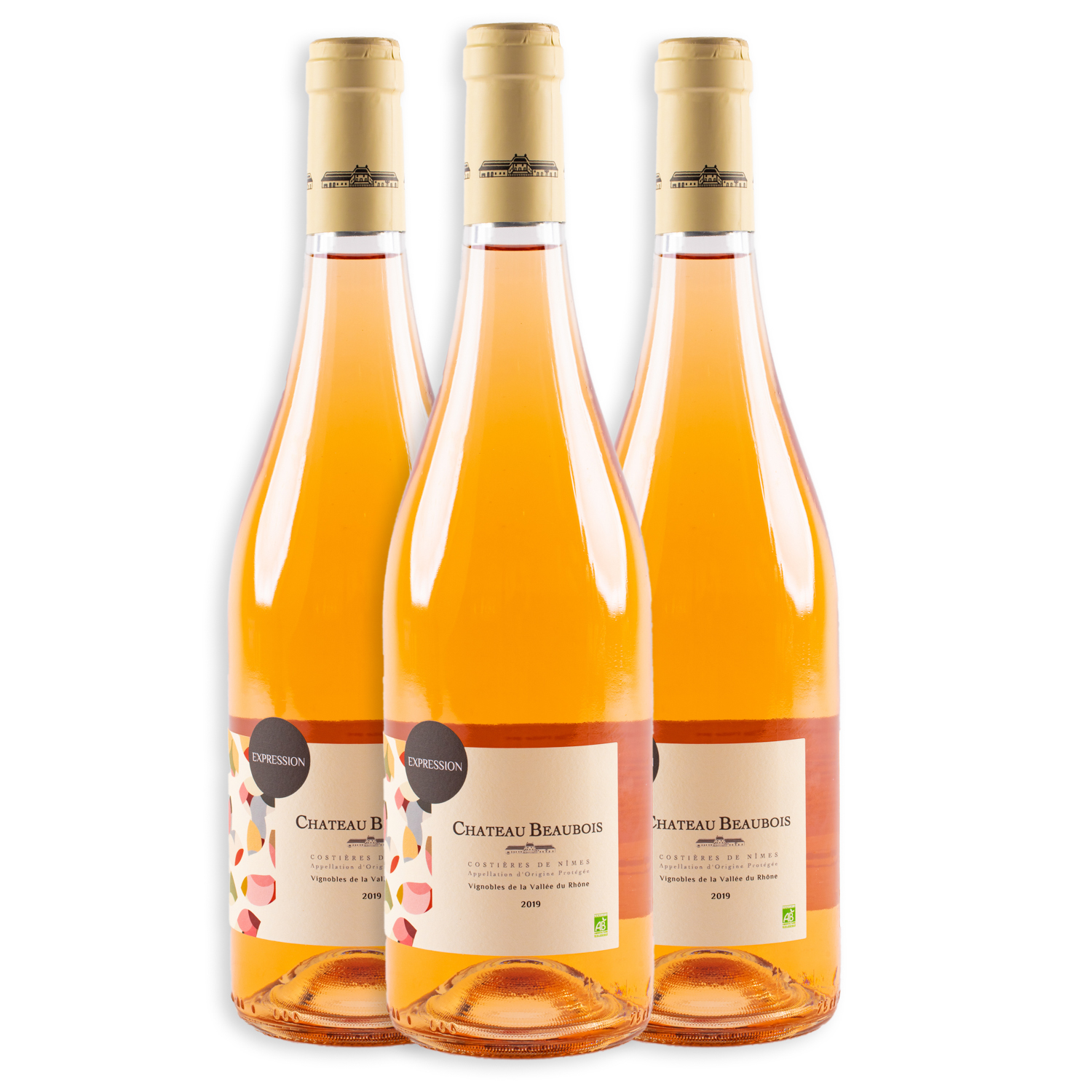 3 sticle x Chateau Beaubois Expression Rose 2019 750ml