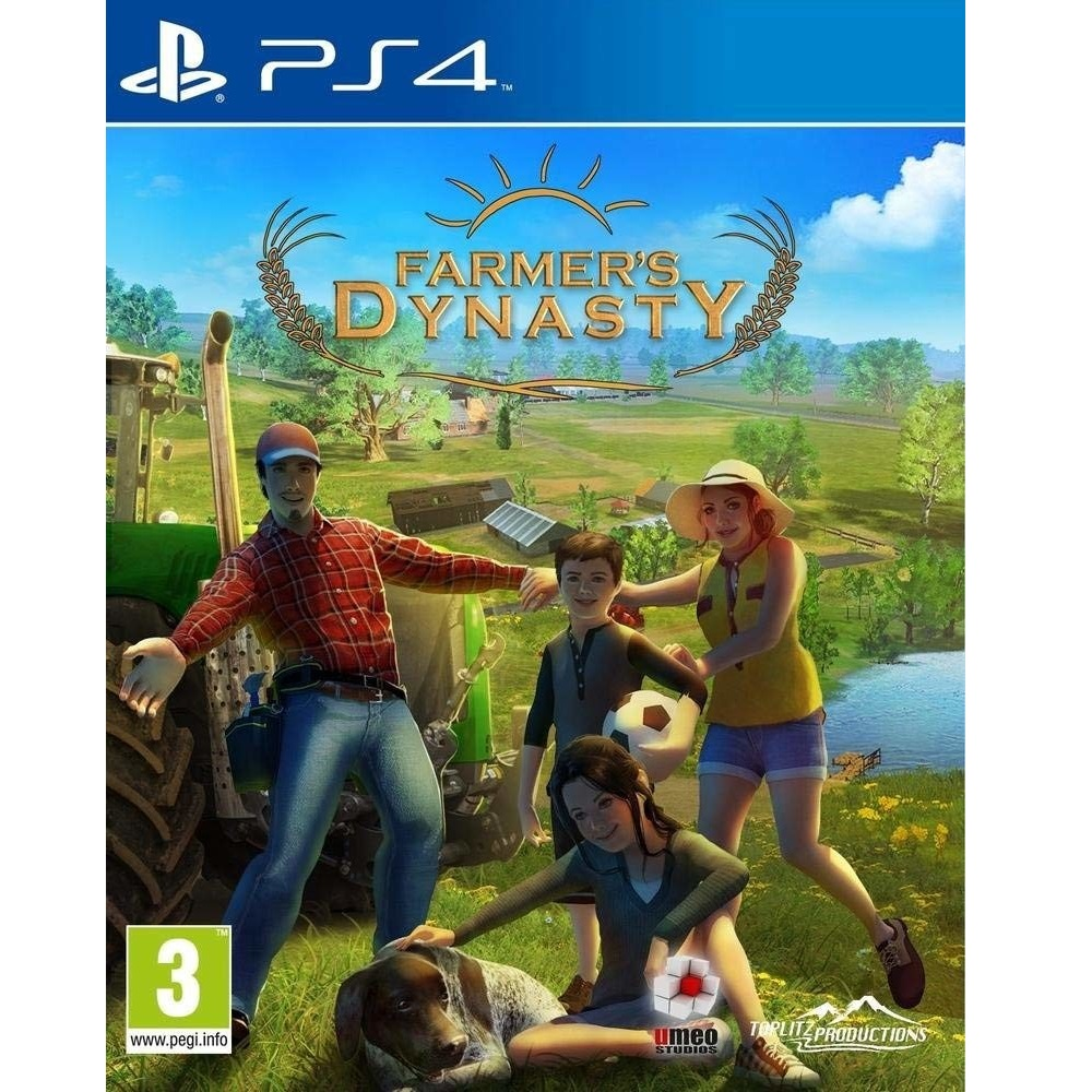 PS4 Farmer\'s Dynasty (Premium) Digital Download