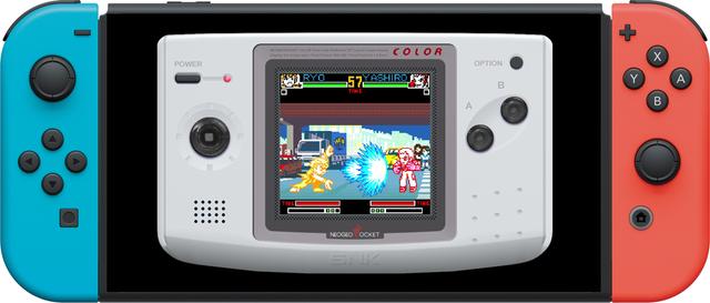 NEOGEO POCKET格⾾傑作陸續登陸Nintendo Switch! Main