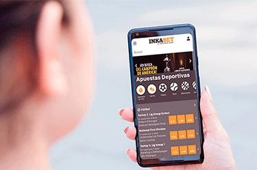 ¿Cómo usar Inkabet app en Android?