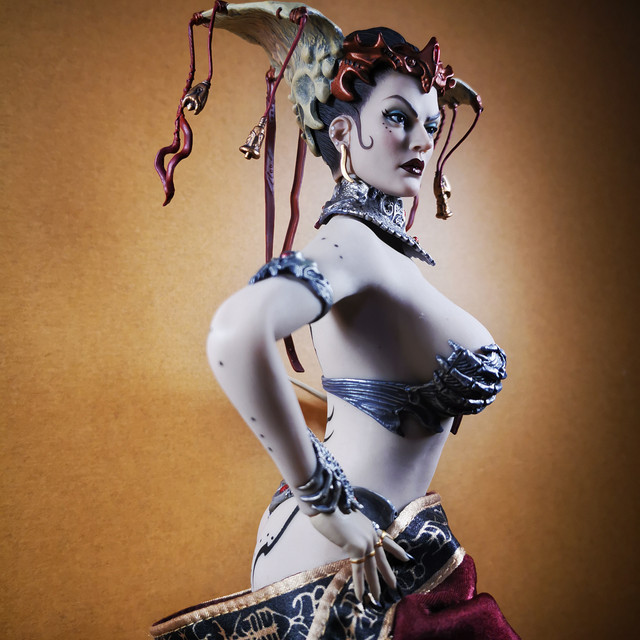 sideshow - NEW PRODUCT: Tbleague x SIDESHOW New: 1/6 Court of the Dead: Gethsemoni The Dead Queen action figure (PL2019-147) 34