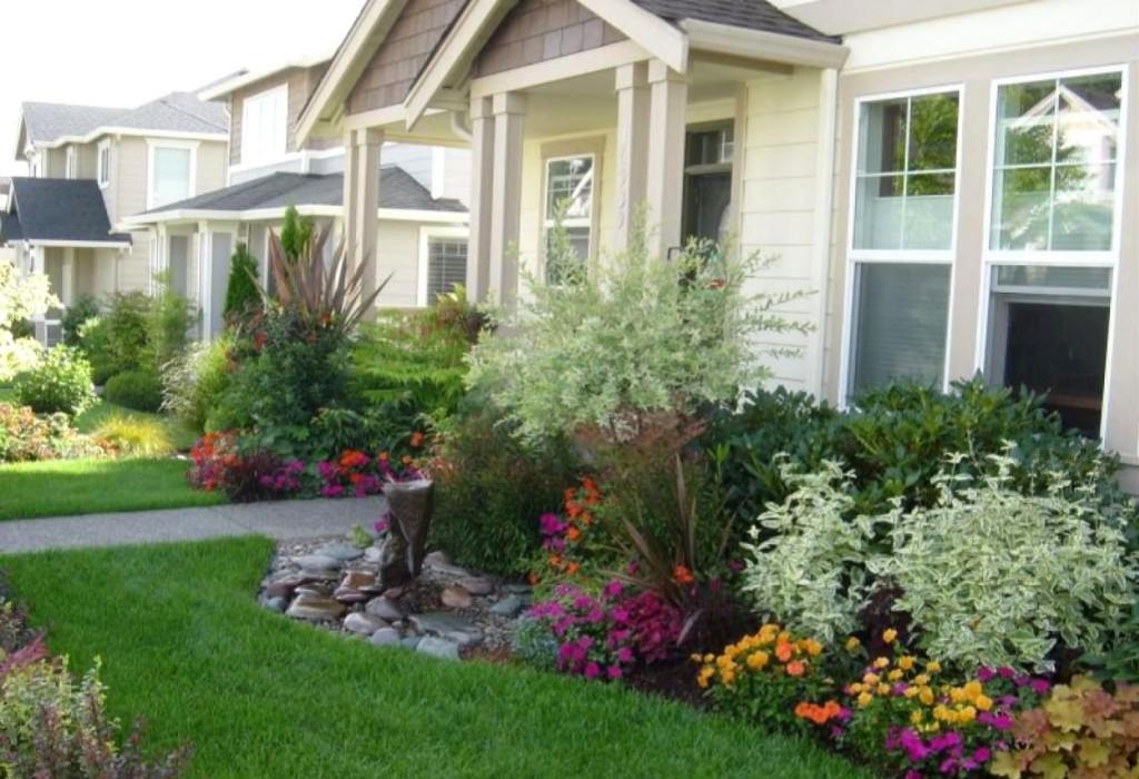Home Garden Design Aesthetic Beauty
