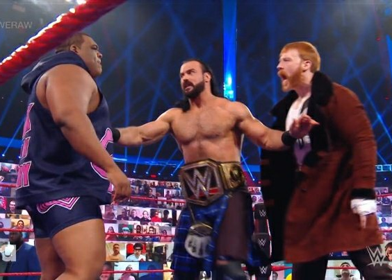 Disputa entre Sheamus y Keith Lee