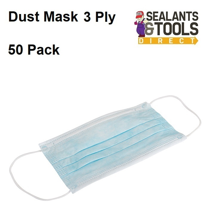 Silverline-986012-Face-Dust-Mask-50-Pack
