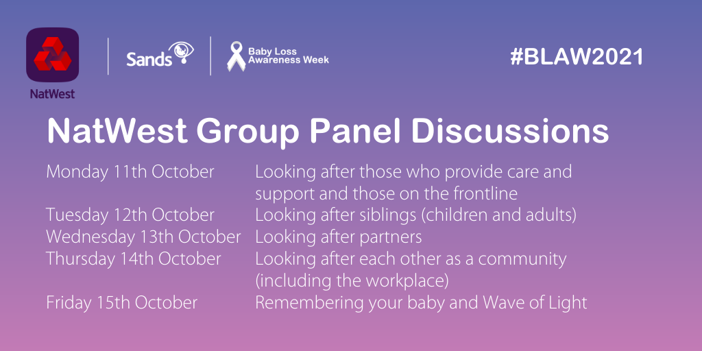 Live discussions on Facebook hosted by Natwest Group