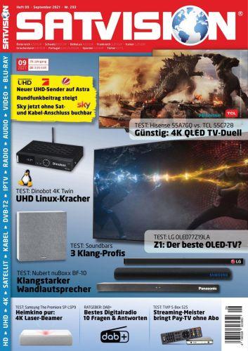 Cover: Satvision Magazin No 09 September 2021
