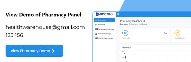 Pharmacy-panel