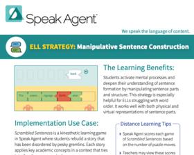 PDF SpeakAgent Manipulative Sentence Construction Strategy Brief