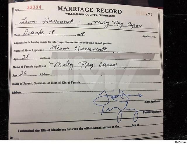 certificado-de-matrimonio-Miley-Cyrus
