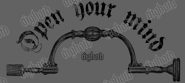 OPEN YOUR MIND - Aighard Merchandise Webshop | Trephine Torture Carcass Tools Of The Trade