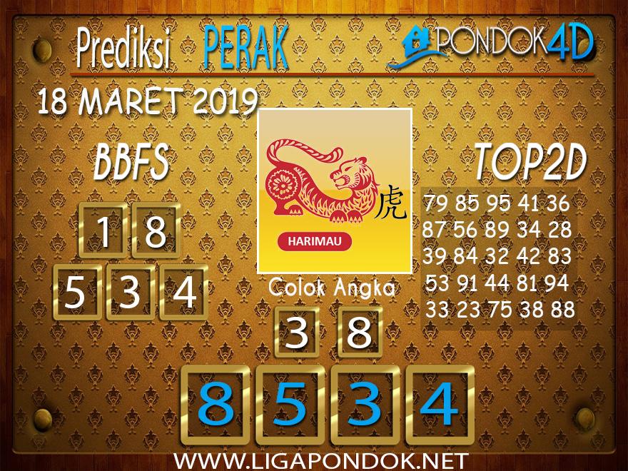 Prediksi Togel  PERAK  PONDOK4D 18 MARET 2019