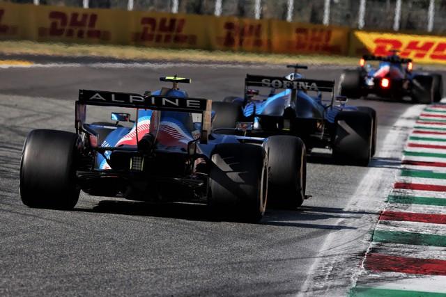 Alpine poursuit sa série d'entrées dans les points avec un double top dix à Monza Grand-Prix-d-Italie-2021-Alpine-A521-N31-Esteban-OCON-8