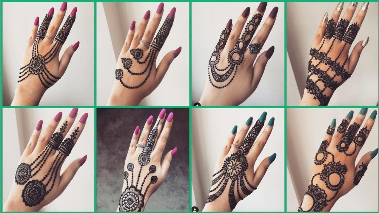 eid mehedi design