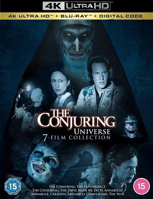The Conjuring Universe  - 8 FILM (2013-2021) 2160p + 1080p 10bit