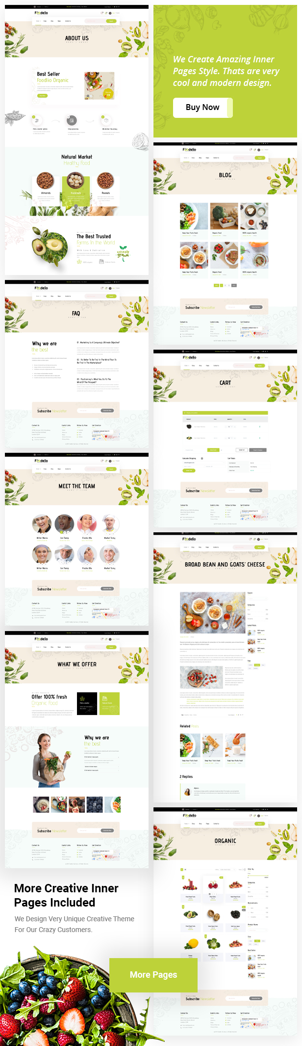 Foodelio-Pages-List