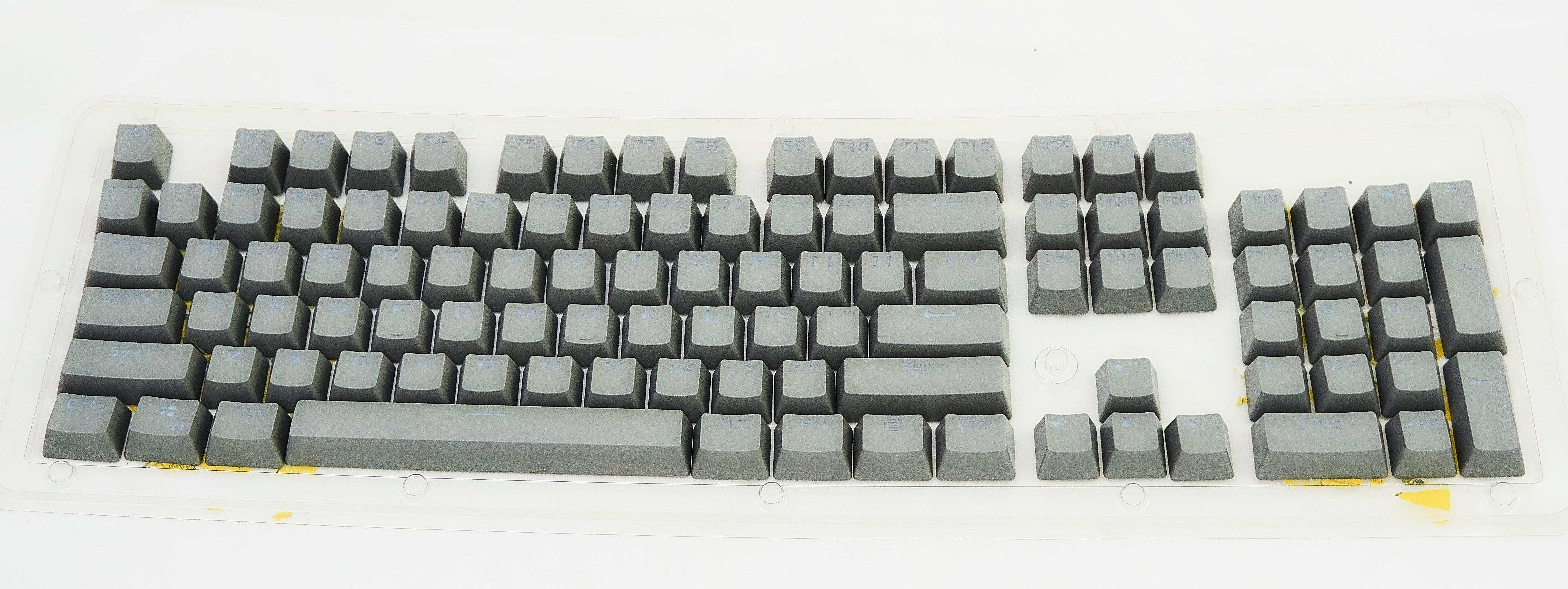 Keycap Cinza Tecla para Teclado Mecânico