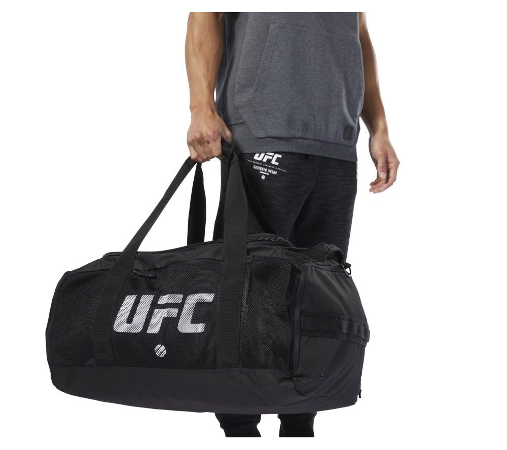Сумка спортивная Reebok UFC Grip Bag - черная Оригинал