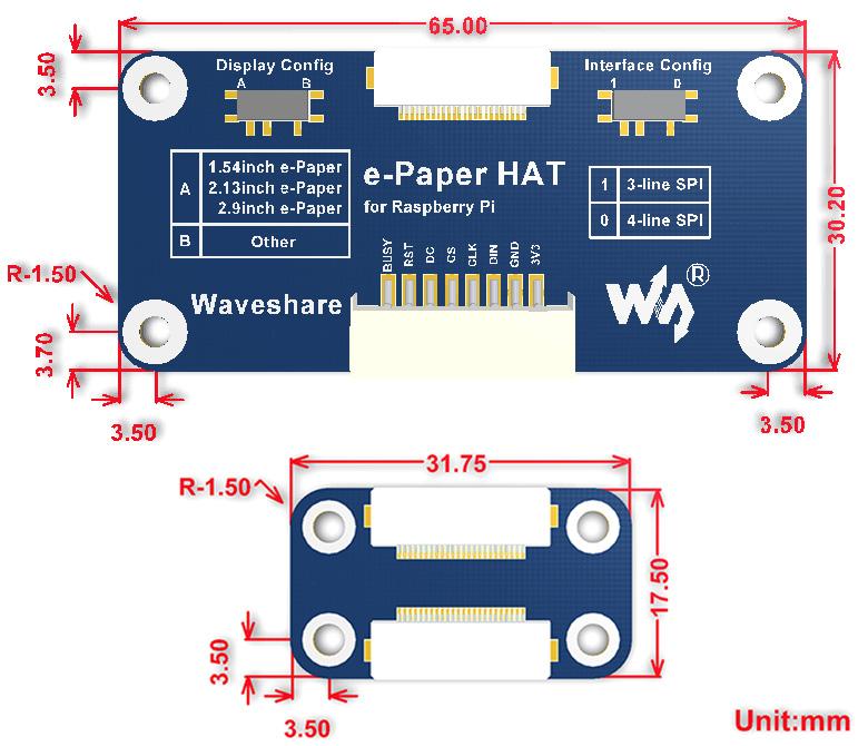 e-Paper-Driver-HAT-size-1