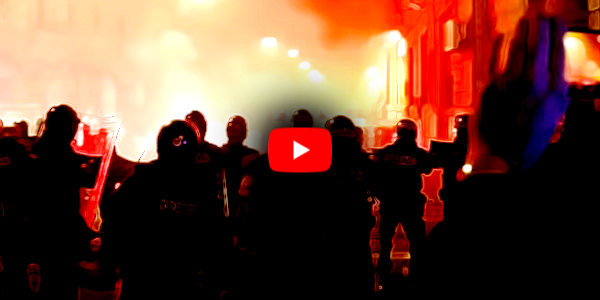 Protesters in Naples, Italy, take to the street in defiance of curfew after governor calls for total lockdown…