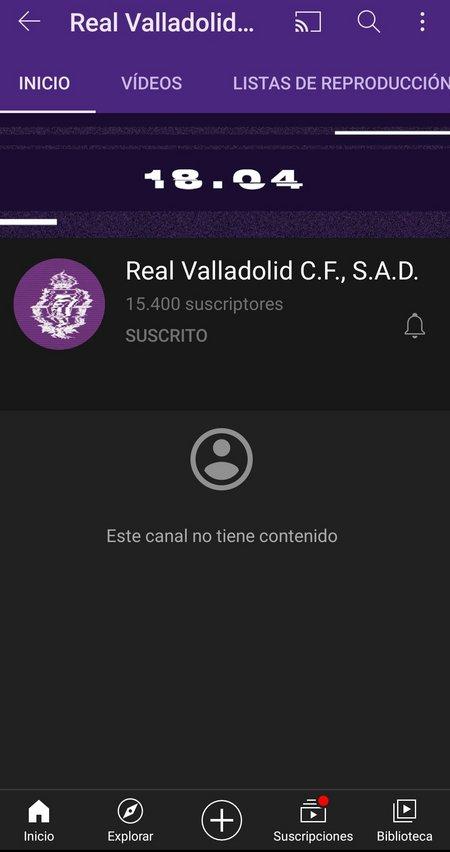 Nace 'Pucela Play', el nuevo canal de YouTube del Real Valladolid Ey9lt-Dt-WQAAsr-Yv