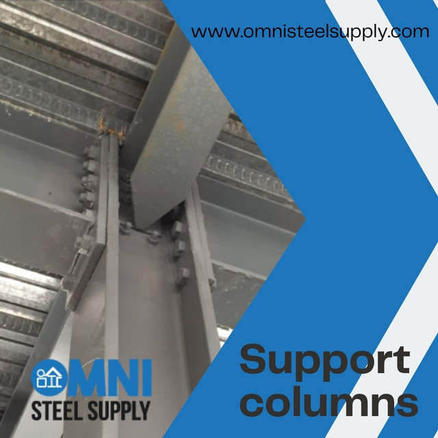 We are specializes in Post/Columns Fabrication, Post Supports, Metal Deck support, Lally columns, steel renovations & custom Fabrication services.We deliver the highest structural steel fabrication services. Our support and sales team is here to help and answer any questions you might have.  Source: https://www.omnisteelsupply.com/steel-column-manufacturing/