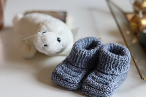 An image of a pair of baby shoes.