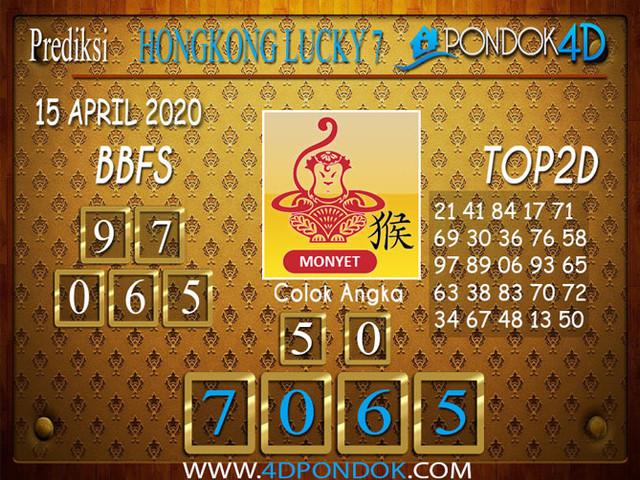 Prediksi Togel HONGKONG LUCKY 7 PONDOK4D 15 APRIL 2020