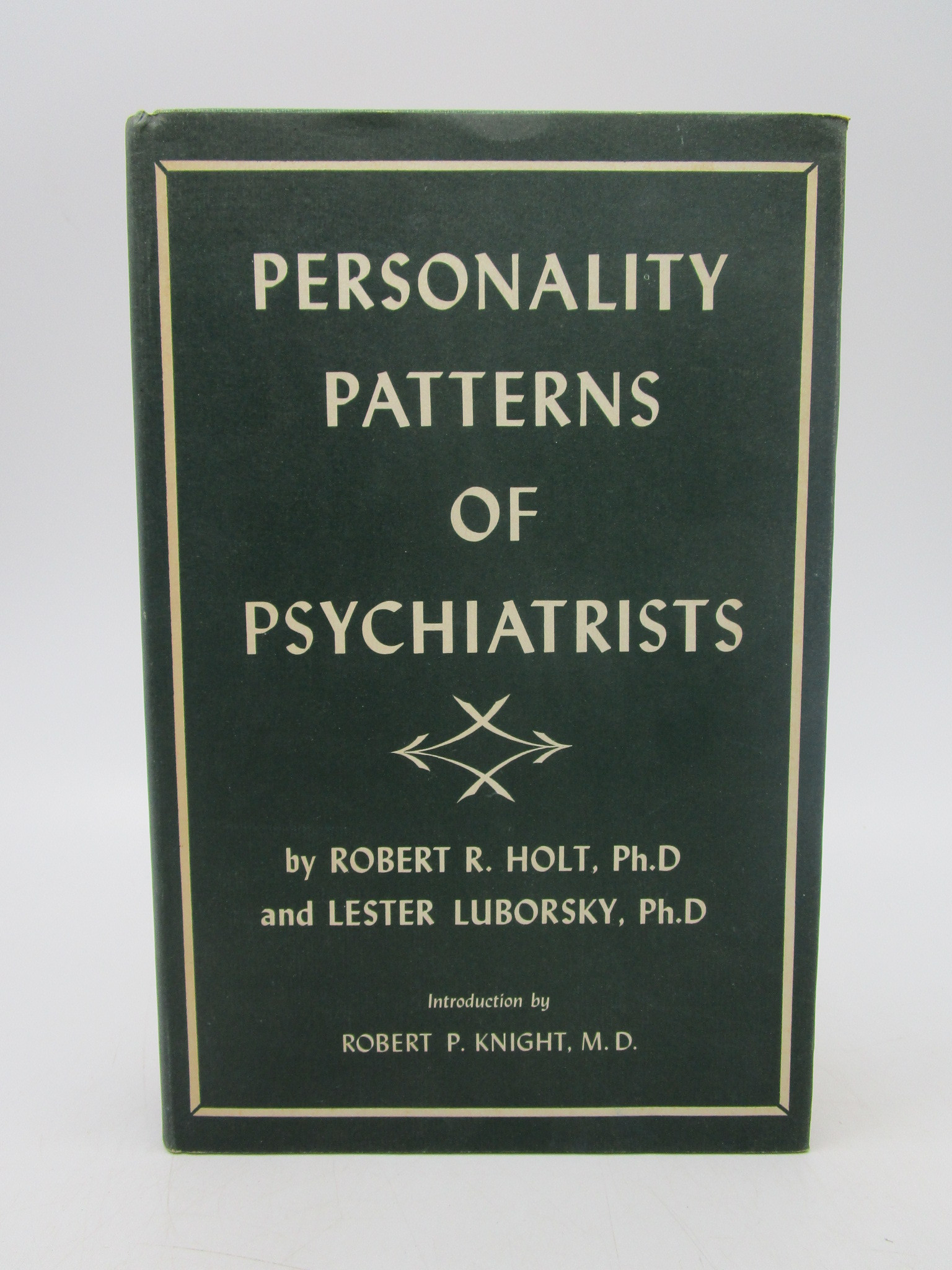 Image for Personality Patterns of Psychiatrists vol 1 (signed)