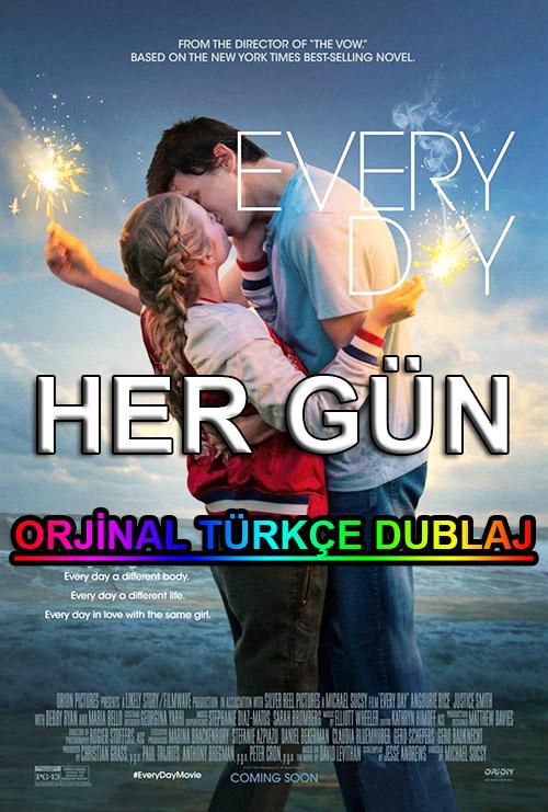 Her Gün | Every Day | 2019 | BDRip | XviD | Türkçe Dublaj | m720p - m1080p | BluRay | Dual | TR-EN | Tek Link