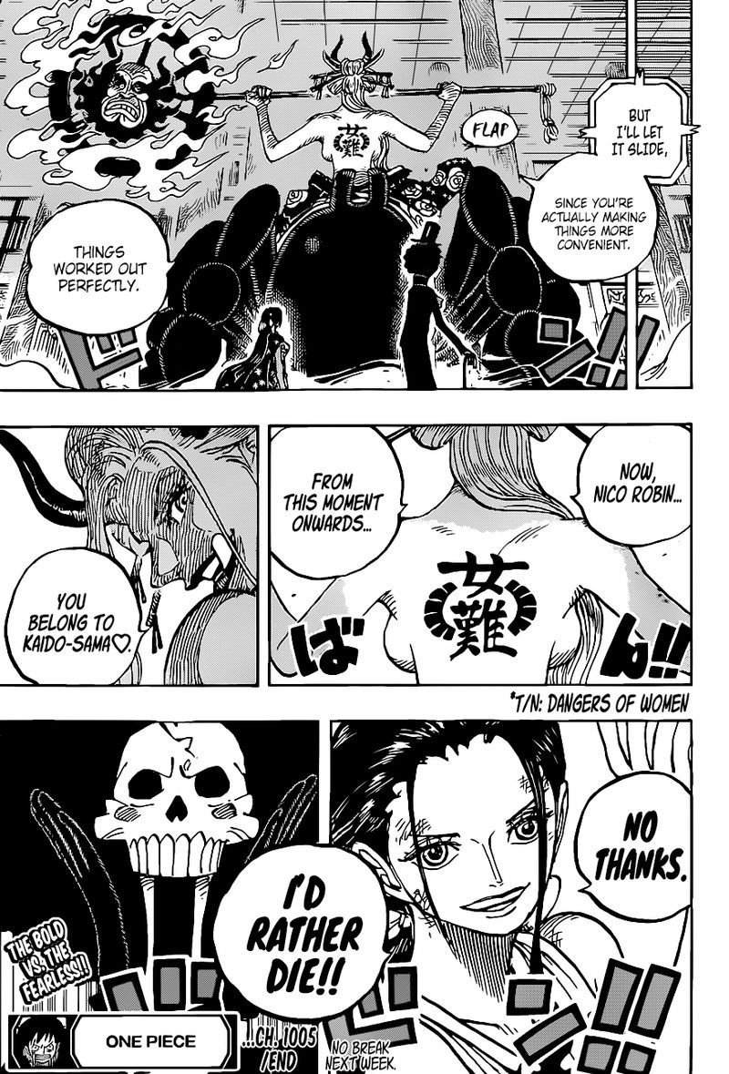 One Piece Chapter 1005 - Img 016